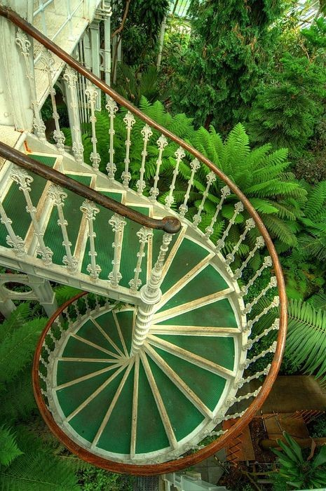 Spiral Staircase, Kew Gardens, London